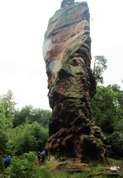 The lone Rock, Anveiller, Germany