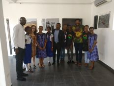 High School Pupils at The Eyes of A Lagos Boy Photo Exhibition