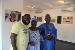 Folabi Adigun, Alhaja and Alhaji Adigun at the Eyes of A Lagos Boy Phot