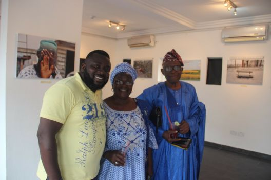 Folabi Adigun, Alhaja and Alhaji Adigun at the Eyes of A Lagos Boy Phot