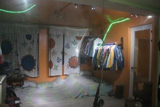 Fela's home and personal belongings at the Kalakuta Museum, Lagos.